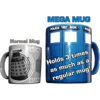 TARDIS Mega Mug