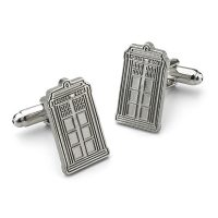 TARDIS Mens Jewelry Gift Set