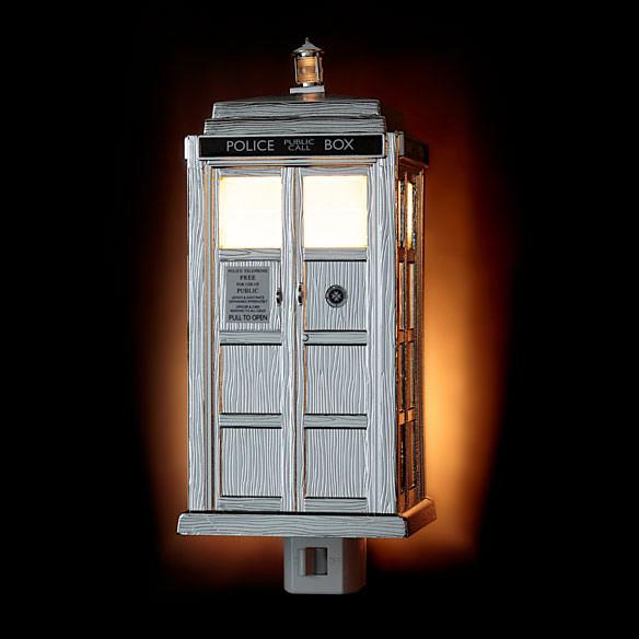 TARDIS Night Light Limited Edition Chrome Version