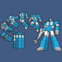 TARDIS Optimus Prime Mash Up Shirt