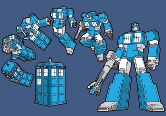 TARDIS-Prime-TShirt