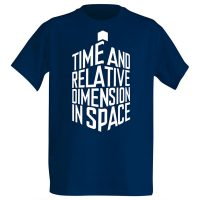 TARDIS-Shaped Expansion Shirt