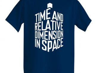 TARDIS-Shaped Expansion Shirt