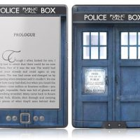TARDIS Skins For Your iPad, Kindle and iPhone