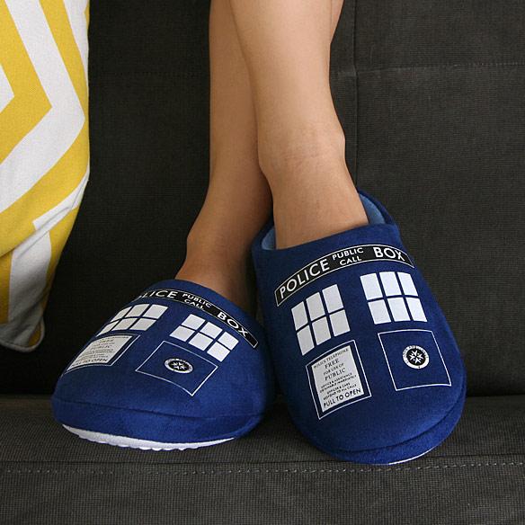 TARDIS Slippers