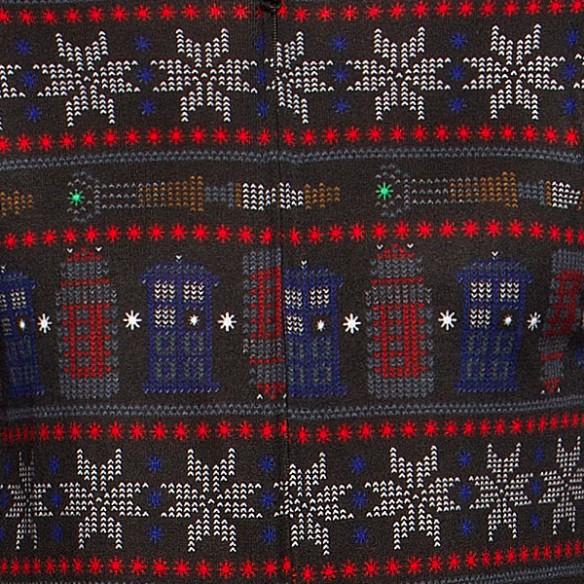 TARDIS Snowflake Lounger