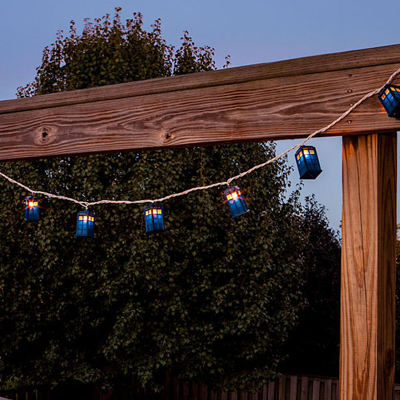 TARDIS String Lights