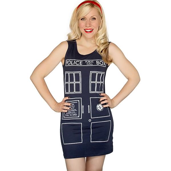 TARDIS Tank Dress