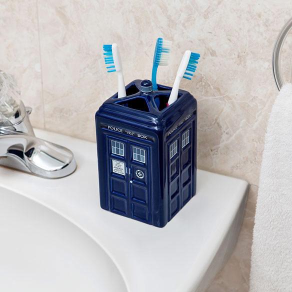 TARDIS Toothbrush Holder