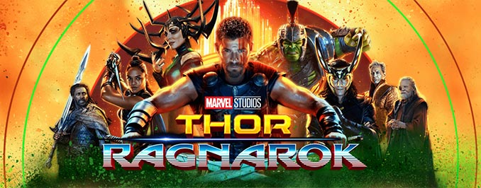 THOR: RAGNAROK Released on DVD/Blu-ray/4K