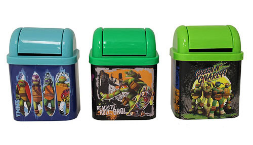 TMNT Flip Lid Desktop Tin Set