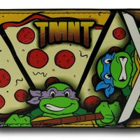TMNT Pizza Pattern BiFold Wallet