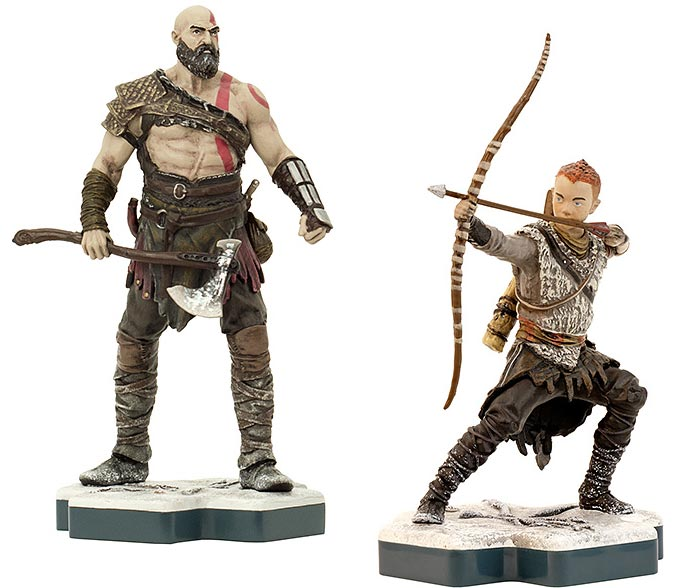 TOTAKU God of War Kratos & Atreus Figures
