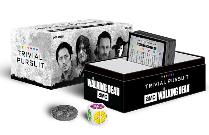 TRIVIAL PURSUIT AMC The Walking Dead