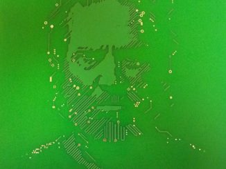 TRON Flynn Lives Circuit Board
