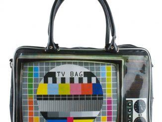 TV Test Pattern Weekend Bag