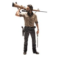 TWD TV Rick Grimes 10-Inch Deluxe Action Figure