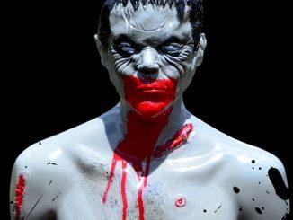Tactical Bleeding Zombie Target