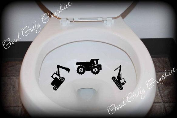 Taking Aim toilet targets