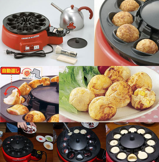 Takoyaki Automatic Octopus Balls Maker
