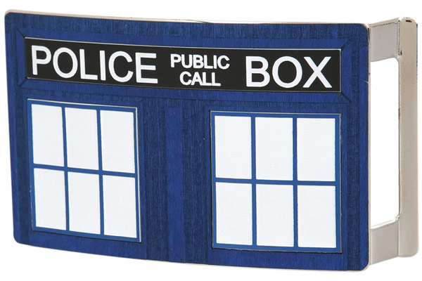 Tardis Belt Buckle