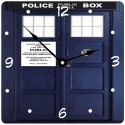 Tardis Phone Booth Wall Clock