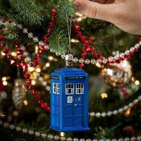 Tardis christmas ornament