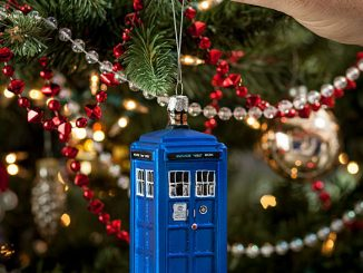 Tardis christmas ornament