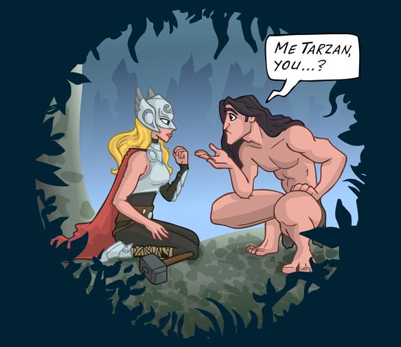 Tarzan Thor Shirt