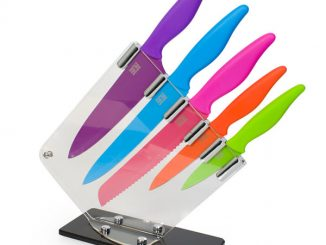Taylor's Colored Kitchen Knife Block