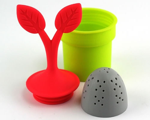 Tea Leaves Desined Tea Infuser