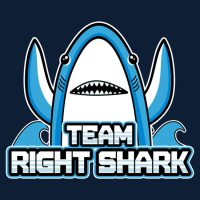 Team Right Shark T-Shirt