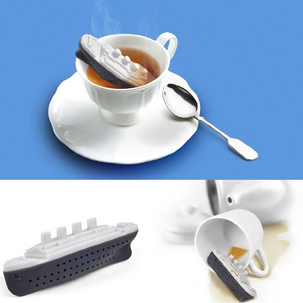 Teatanic The unsinkable Tea Infuser