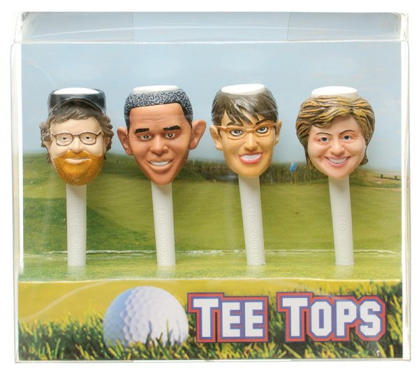 Tee Tops Political Golf Tees