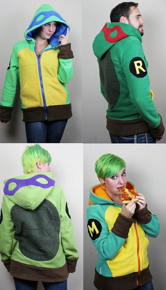 Teenage Mutant Ninja Turtle Fleece Hoodies