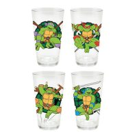 Teenage Mutant Ninja Turtles 16 oz. Pint Glass 4-Pack