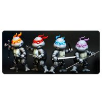 Teenage Mutant Ninja Turtles Black and White Die-Cast Metal Action Figure 4-Pack