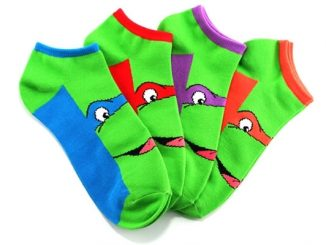 Teenage Mutant Ninja Turtles Character Ankle Socks