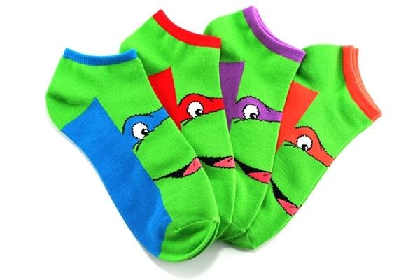 Teenage Mutant Ninja Turtles Character Ankle Socks