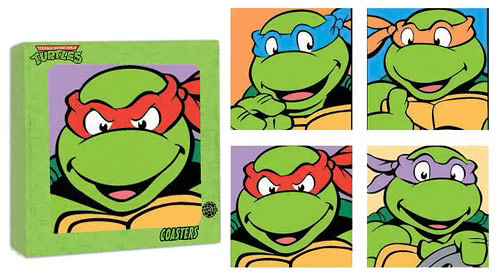Teenage Mutant Ninja Turtles Coasters