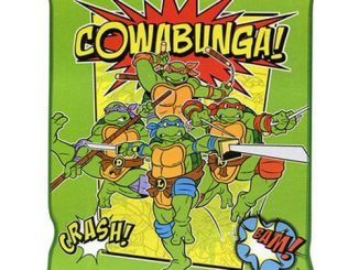 Teenage Mutant Ninja Turtles Cowabunga Throw Blanket