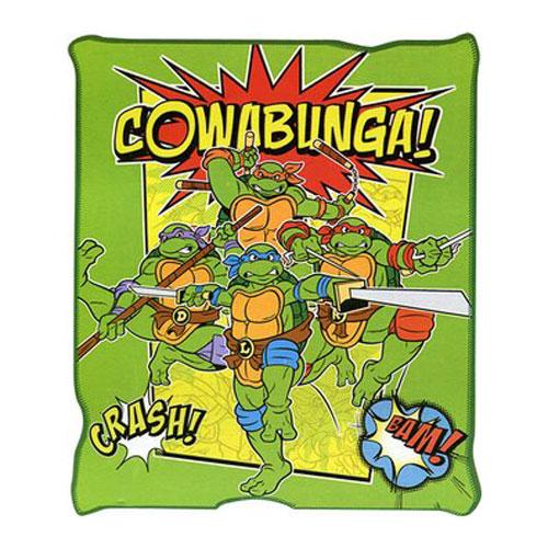Teenage Mutant Ninja Turtles Cowabunga Throw Blanket