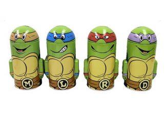 Teenage Mutant Ninja Turtles Domed Tin Bank Set