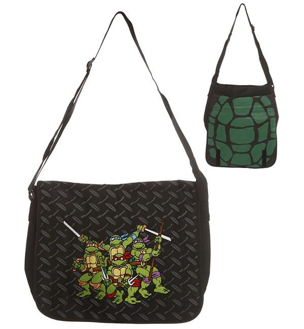 Teenage Mutant Ninja Turtles Embroidered Messenger Bag