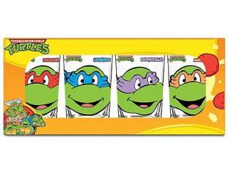 Teenage Mutant Ninja Turtles Glasses 4-Pack