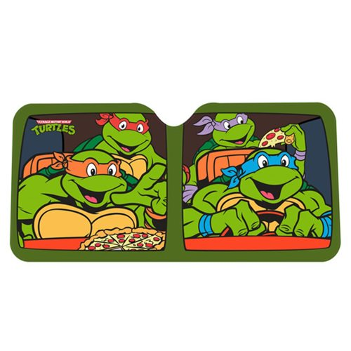Teenage Mutant Ninja Turtles Group Pizza Sun Shade