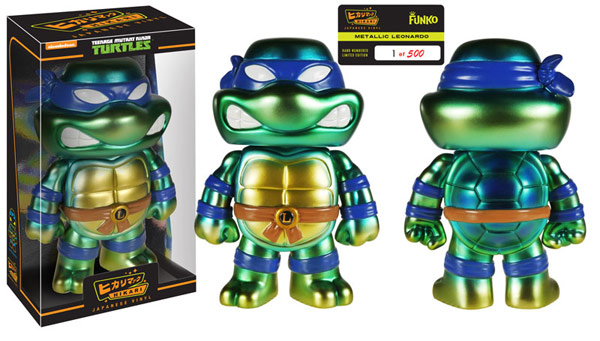 Teenage Mutant Ninja Turtles Hikari Metallic Leonardo Figure