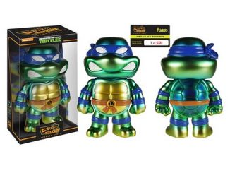 Teenage Mutant Ninja Turtles Hikari Metallic Leonardo Sofubi Vinyl Figure