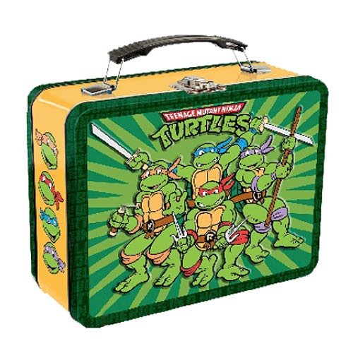 Teenage Mutant Ninja Turtles Large Tin Tote