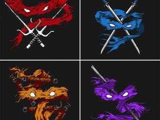 Teenage Mutant Ninja Turtles Minimalist T-Shirts